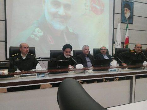 شهادت سردار سلیمانی مقدمه برچیده شدن پایگاه های استکبار در منطقه است